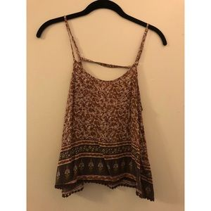 Forever 21 tank top with open back